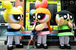 Behind the scenes: Cartoon Network's Powerpuff Girls Emporium