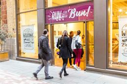 In pictures: David Lloyd's 'Run for your Bun' café