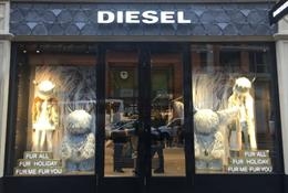 Diesel launches flagship store with VR experience
