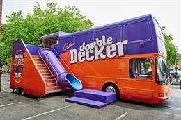 First look: Inside Cadbury's Double Decker fun bus