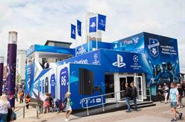 Behind the scenes: PlayStation at UEFA Champions League Festival