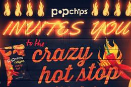 Popchips opens 'crazy hot stop' pop-up