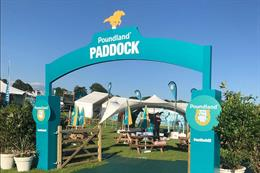 In pictures: Poundland's activation at Epsom Derby