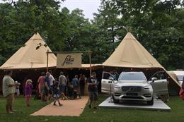 Volvo brings in TRO for Scandinavian festival experiences