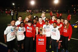 In pictures: Coca-Cola surprises teens with all-star rugby session