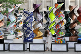 In pictures: Cancer Research launches DNA sculptures around London