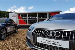 In pictures: Audi VR experience at Goodwood