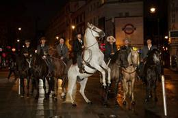 Behind the Scenes: Magnificent Seven cowboys come to London
