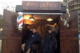 In pictures: Giffgaff creates touring haircutting event
