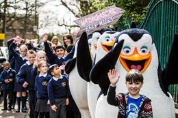 Dreamworks and Brake recruit John Lewis actor for road safety stunt