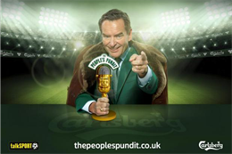 Talksport and Carlsberg launch experiential pundit search