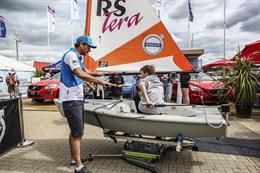 In pictures: Volvo's sailing simulator at Cowes Week