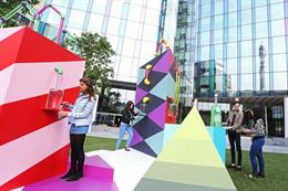 In pictures: SodaStream opens drinkable art pop-up