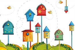 RSPB's Big Birdhouse Tour installation comes to Manchester