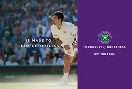 Space delivers live campaign at Wimbledon