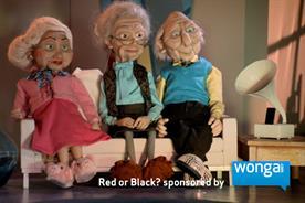 Wonga: sponsors 'Red or Black?'