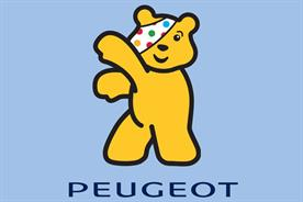 Peugeot: rolls out Pudsey logo