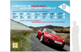 Mazda: founding partner for Facebook Deals in the UK