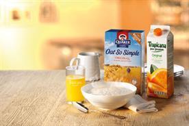 PepsiCo brands: Quaker Oats and Tropicana