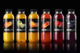 JuiceBurst redesign brings brand name to life