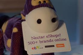 Nectar:  Gift Horse character to promote eShops online discount portal