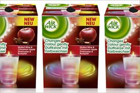 Air Wick: rolls out colour-changing candle range