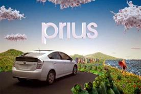 Toyota Prius: hybrid vewhicle helps car manufacturer gain greenest brand label