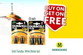 Supermarket price promotions