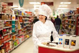 Lindt: Cosine ran sampling activity for the brand in Sainsbury's
