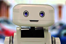 Brian the robot: Confused.com's brand character