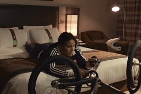 Holiday Inn: ad features BMX world champion Shanaze Reade