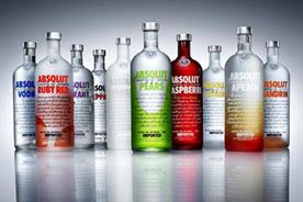 Absolut: part of an innovation programme at Pernod Ricard