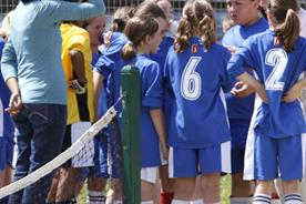The FA is calling on Nike to design a different girls kit