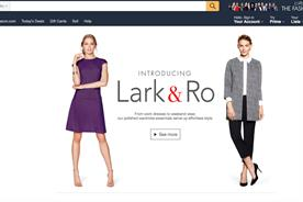 Amazon's own-brand Lark&Ro has its own microsite
