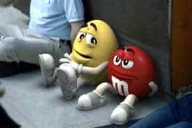 M&M's: missed out on top spot