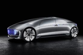 Mercedes-Benz F 015: the car of the future unveiled at this week's Consumer Electronics Show