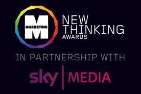 Sky Media announced as headline partner for Marketing New Thinking Awards