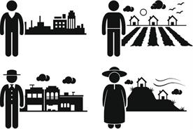 Differences between urban and rural markets, not countries, are the ones that matter