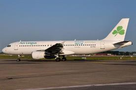 Aer Lingus: places its Twitter handle on aircraft fuselage