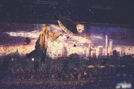 Burberry sends Cara Delevinge flying over VIPs as it brings London to Shanghai