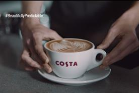 Costa Coffee: 'Beautifully predictable' campaign centres on pouring the perfect coffee