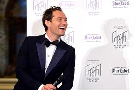 Johnnie Walker Blue enlists Jude Law for 'Symphony in Blue' extravaganza