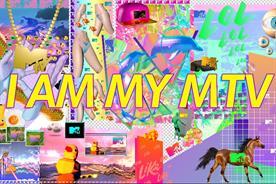 MTV: embraces the internet's visual language