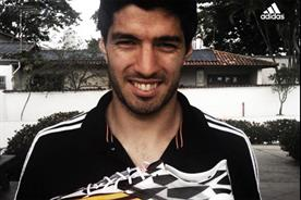 Adidas tweeted an image of Suarez alongside the caption the 'perfect weapon'