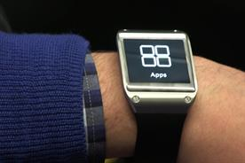 The Samsung Galaxy Gear: wearable smart device was unveiled in September