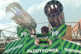 Paddy Power: promising more mischief under new CMO Gav Thompson