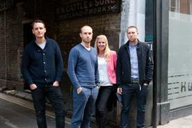 Hometown: (l-r) Simon Labbett, David Gamble, Helen Kimber, Chris Jefford