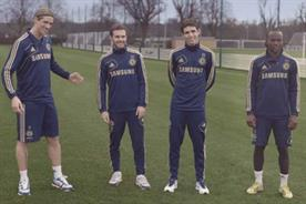 Samsung: 'dream the blues' ambassadors Fernando Torres, Juan Manuel Mata García, Oscar and Victor Moses