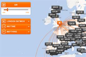 easyJet: rolls out 'inspire me' tool