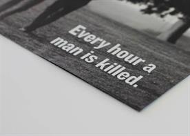 Prostate Cancer UK: 'save the man' campaign